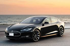 The Tesla Model S; retailing for a cool $89-thousand.